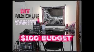 diy makeup vanity saubhaya makeup