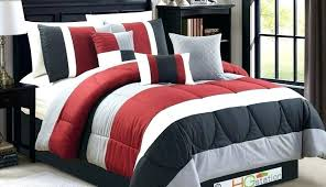 inspiring red plaid bedding target home