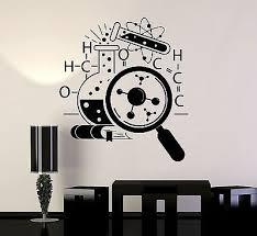 Vinyl Wall Decal Science School Chemistry Scientist Stickers Murals Vs4745 Amazon Com Industrial Scientific