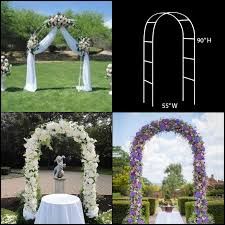steel pipe material wedding arch