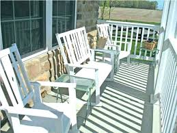 white porch chairs padded folding