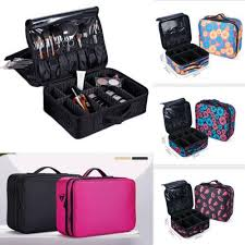 bag vanity case cosmetic nail tech