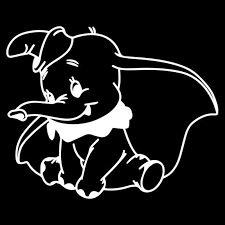 Dumbo Car Window Decal Sticker Vinyl