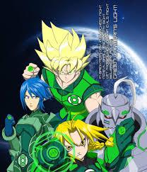 Anime Green Lantern Corps by Tyrranux on DeviantArt