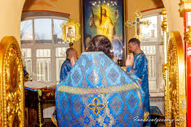 Божественная литургия в праздник Благовещения Пресвятой Богородицы   Храм  Великомученика и Целителя Пантелеимона