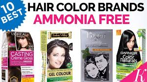 10 best ammonia free hair color brands
