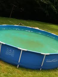 pool with a magic eraser