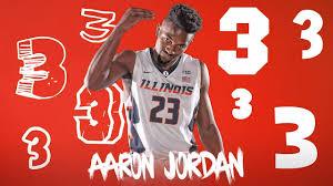 Fighting Illini Basketball - 3 is a Magic Number | Illinois' Aaron Jordan |  Facebook