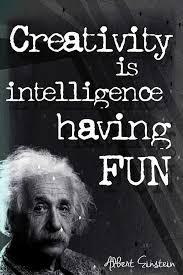 buy creativity is intelligence having fun albert einstein german