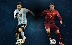 Image result for ronaldo and messi friendly images