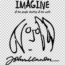 Wall Decal The Beatles Sticker Imagine John Lennon Png Clipart Area Art Beatles Black Black And