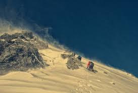 mounn climbing traveling snow 5k