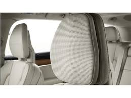 volvo front seat headrest pillow cover