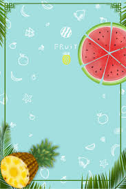 Pina Sandia Verde Fresco Verano Textura Pina Imagen De Fondo