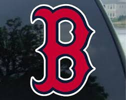 Red Sox Decal Etsy
