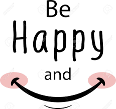 Be Happy And Smile Wall Decal To Decorate Home And Kitchen Royalty Free Cliparts Vectors And Stock Illustration Image 150097555