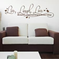 Shop Live Laugh Love Quote Phrases Wall Decal Overstock 10673730