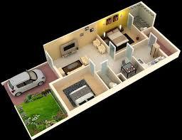 stylish 3d home plan everyone will like