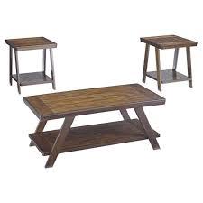 bradley 3 piece coffee table set