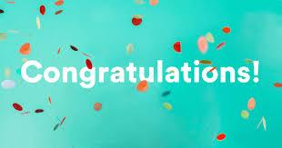 congratulate someone in every se of life