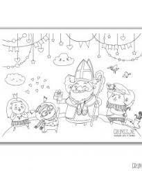 Sinterklaas Kleurplaat Gratis