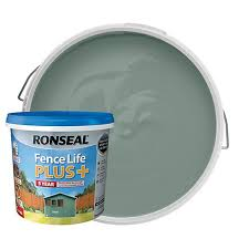 Ronseal Fence Life Plus Matt Shed Fence Treatment Sage 5l Wickes Co Uk