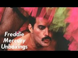 fred mercury unboxings never