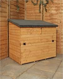 wooden garden storage box home