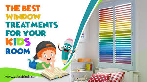 The Best Window Treatments For Your Kid S Room