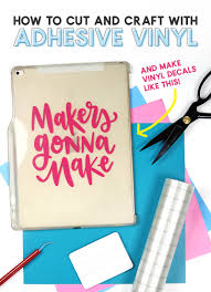 How To Use Adhesive Vinyl A Beginner S Guide To Cutting And Applying Vinyl Decals Persia Lou