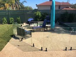 Frameless Glass With Black Spigots Oke Pool Fencing Facebook