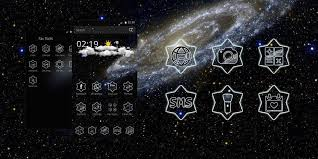 galaxy theme for cm launcher
