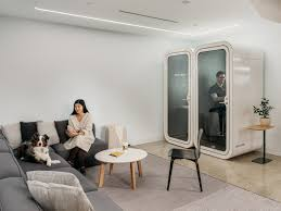 office pod ambient office interior lounge