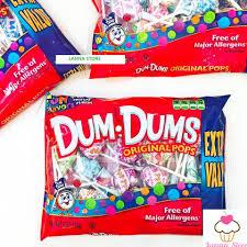 BÁN CHẠY NHẤT] Kẹo que mút Dum Dums gói 153g - Mỹ