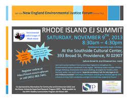 New England EJ Forum | Environmental Justice League of Rhode Island