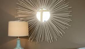 awesome diy large sunburst mirror
