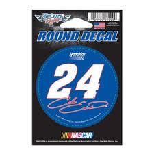 Chase Elliott 24 3x3 Round Vinyl Sticker At Sticker Shoppe