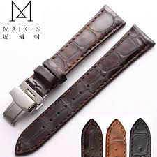 genuine leather watch band 18mm 19mm