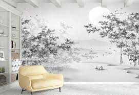 Pin On Chinoiserie Floral Nursery Wallpaper Mural Decoration