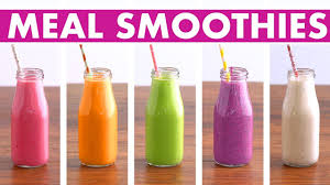 5 healthy meal replacement smoothies