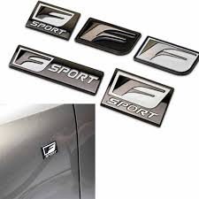 For Lexus F Sport Logo Car Sticker Badge Emblem Metal Decal For Is Isf Gs Rx Rx300 Rx350 Es Is250 Es350 Lx570 Ct200 Car Styling Car Stickers Aliexpress