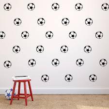 Pack Of 25 Soccer Balls Vinyl Wall Art Decals 1 5 X 1 5 Each One Imprinted Designs