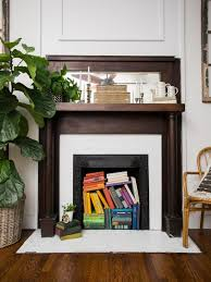 alternative fireplace filler ideas