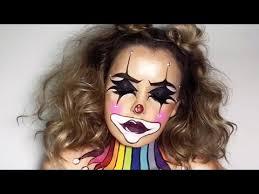 clown makeup tutorial beauty