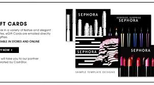 best s that sell sephora gift card