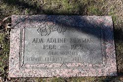 Ada Adeline Newman Mills (1888-1935) - Find A Grave Memorial
