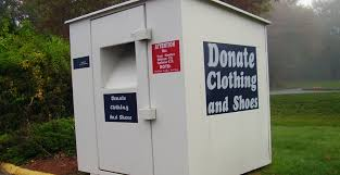 loss of clothing donation bins forecast