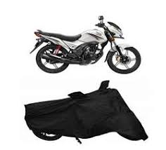 honda cb shine bike cover black