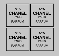 4x Chanel No 5 Replica Vinyl Decal Stickers Box Frame Vases Books Crafts Size 3 2 60 Picclick Uk