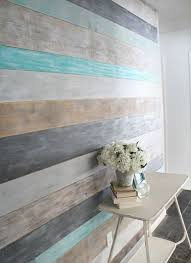 how to make a wood planked accent wall